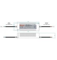 120W 12Vdc Single Output LED Driver, GPV-150-12, 5 years warranty, TÜV certificate