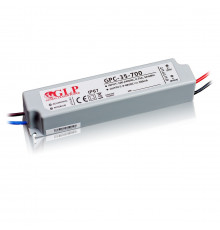 33.6W 700mA Single Output Switching LED Power Supply, GPC-35-700 , 5 years warranty
