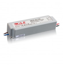 63W 1050mA Single Output Switching LED Power Supply, GPCP-60-1050, Built-in active PFC function, 5 years warranty