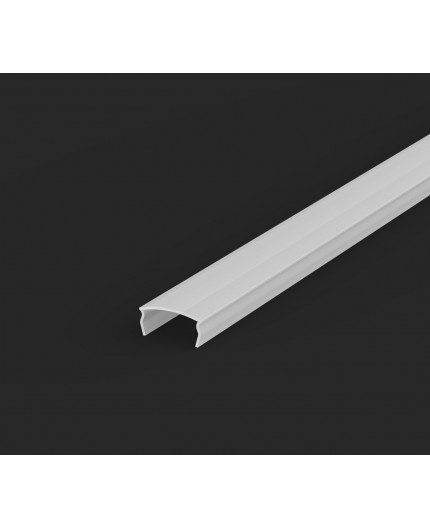 1m / 1000mm extra diffuser / cover for LED aluminium extrusions series E