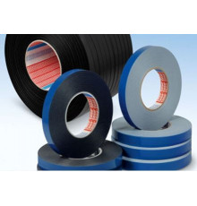 Double sided PE foam tape for mounting LED profiles, 50m