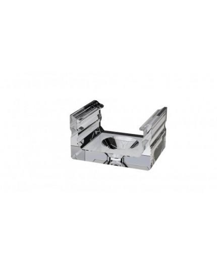 KL2 plastic mounting clip (transparent) for LED channels