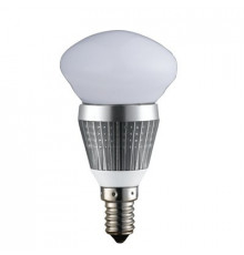 3W E14 LED Lamp, Milky Mushroom Bulb, Warm White, Dimmable, 20W-25W Equivalent