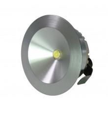 LED Under Cabinet Lights, Spot Light, AC100-240V, 2W, Warm White