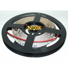 12VDC LED Flexible Strip 2200K-2400K SMD5050, IP20, 5m (36W, 150LEDs),  very warm white