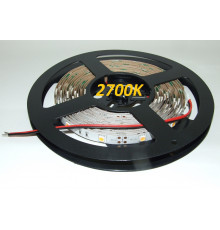 12VDC LED Flexible Strip 2500K-2800K SMD5050, IP20, 5m (36W, 150LEDs),   warm white