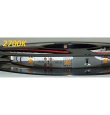 12VDC LED Flexible Strip 2500K-2800K SMD5050, IP20, 5m (36W, 150LEDs),   warm white