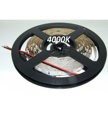 12VDC LED Flexible Strip 4000K-4500K SMD5050, IP20, 5m (36W, 150LEDs),  natural white