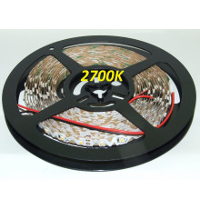 12VDC LED Flexible Tape (strip) 2700K SMD3528 60 LEDs/m, 4.8W/m, IP20, 5m  (5000mm)