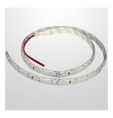 LED flexible strip 2700K SMD3528 12VDC 60 LEDs/m, IP65 (silicon glue coated), a roll 5m (5000mm)