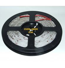 24VDC LED Flexible Strip, 2500K-2800K, SMD2835, IP65, 5m a roll (80W, 600LEDs)