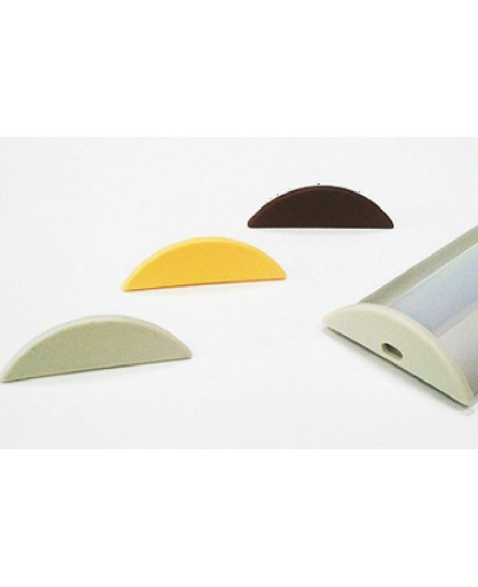 P4 extra end cap for LED profile
