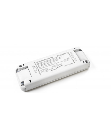 0 - 80W 24Vdc Dimmable (trailing edge) Electronic Transformer for LEDs, TE80W-DIMM-LED-24V