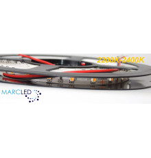 24VDC LED Flexible Strip 2200K-2400K (very warm white) SMD3528, IP20, 5m (24W, 300LEDs)