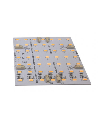 Samsung SMD5630 Rigid LED Module / Panel, 24Vdc, 10W, 100mmx100mm, 4000K, CC (constant current version)