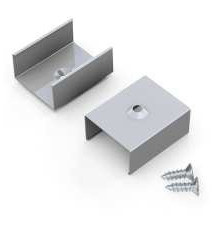 Spring Mounting Clip (optional) for LED aluminium channels TH2