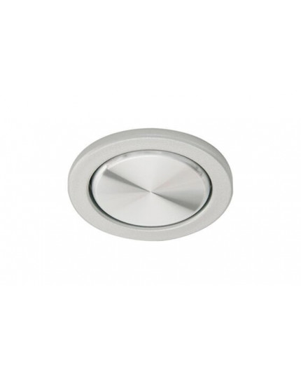 Elektra ON/OFF Fitted Switch, 220V - 240V, 2.5A, stainless steel look