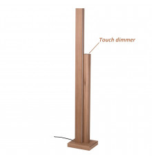 LED Linear Wooden Floor Lamp - Oiled Oak - Manhattan