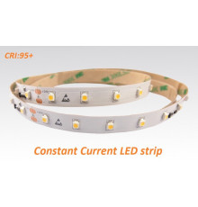 24VDC Constant Current  LED strip SMD3528, CRI≥95, 60LEDs/m, 7.2W/m, 2700K, IP20, 5m  (36W, 300LEDs)