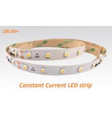 24VDC Constant Current  LED strip SMD3528, CRI≥95, 60LEDs/m, 7.2W/m, 2700K, IP20, 5m  (36W, 300LEDs)