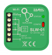 SLW-01 Wi-Fi RGB LED lights control module