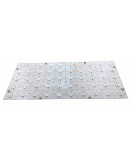 1-LED-Cut SMD2835 160 Degree Flexible Soft LED Module / Panel, 24Vdc, 36W, 6000K, CRI90, 480mmx240mm