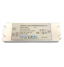 24Vdc 50W DALI dimmable LED driver, ELED-50-24D