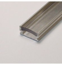 P5 non-anodized (raw) aluminium profile / extrusion with diffuser