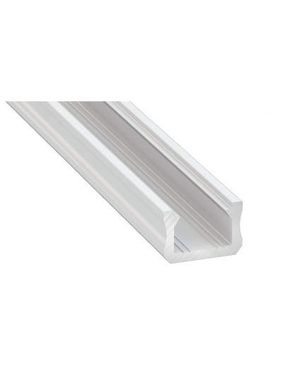 K0 mini LED aluminium profile 2m, painted, white, with diffuser