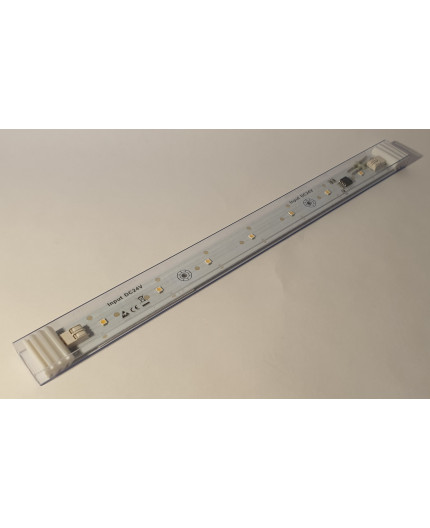 120 Degree SMD2835 Light Bar, CRI(Ra)≥90, 24Vdc, 7.2W, 250mmx20mm, 3000K, CC (constant current version)