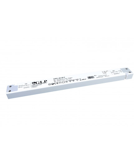 GTPC-60-12-S, 60W, 12Vdc, Slim, Single Output Switching LED Power Supply, PFC, 3 years warranty