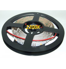 12VDC LED Flexible Strip 2200K-2400K SMD5050, IP20, 5m (36W, 150LEDs),  very warm white