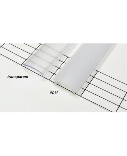 Extra Diffuser / Cover 2m, for P1, P2, PH2, P3, P4 LED profiles