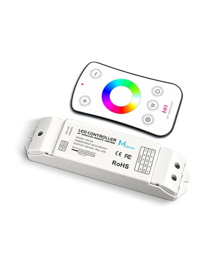 Single zone RGBW Controller With RF Receiver for RGBW LED strips Ltech