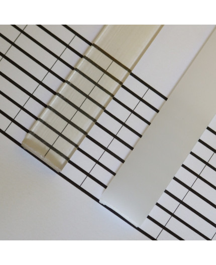 P5 extra cover / diffuser for LED profile 2.5m / 2500mm