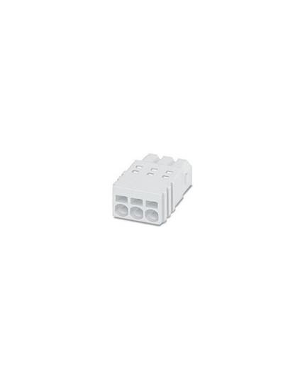Plug, White PCB Terminal Block - PTSM 0,5/ 2-P-2,5 WH