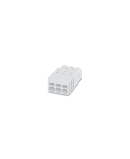 Plug, White PCB Terminal Block - PTSM 0,5/ 5-P-2,5 WH