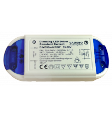 Dimmable LED Driver, Load 5–18W, Constant Current 350mA, Vadsbo