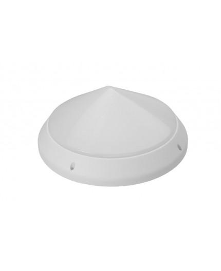 12W 4000K 1200lm CONE Ceiling / Wall LED Bulkhead Light Lamp IP44 IK10