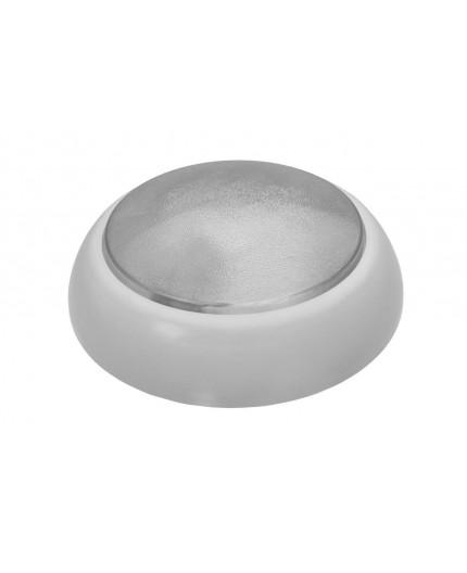 ROUND XL Ceiling / Wall Bulkhead Light Lamp, ES / E27, max.75W, IP44, IK10,  PIR motion sensor