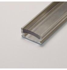 P5 non-anodized (raw) aluminium profile / extrusion with diffuser
