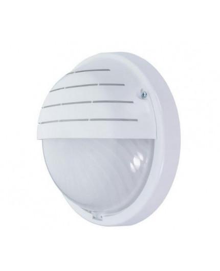 16W 4000K 1600lm VISTA Wall Bulkhead LED Light Lamp IP44, IK10, polycarbonate cover, decorative eyelid
