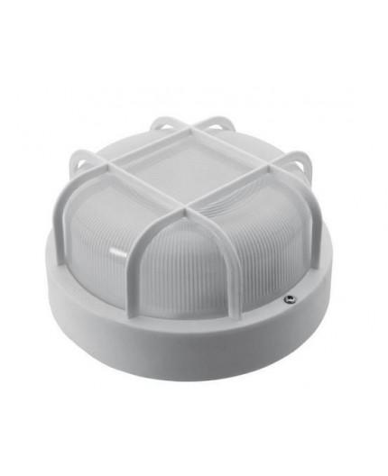 5W 4000K 580lm SMART GRILL Ceiling / Wall Bulkhead LED Light Lamp, IP44, glass cover, plastics cage