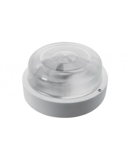 SMART Ceiling / Wall Bulkhead Light Lamp, ES / E27, max. 100W, IP44, glass cover