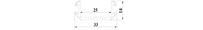 P6 LED profile - aluminium chanel LED strip